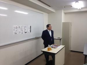 静霞先生特別講義開催!