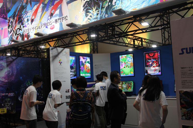 東京ゲームショウに出展した際のブース